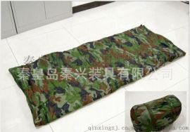 河北秦兴长期供应防水保温性强迷彩信封式造型睡袋