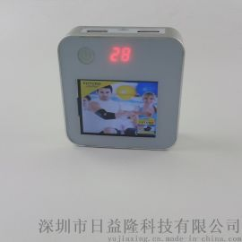 灯箱数码相框移动电源 魔方充电宝