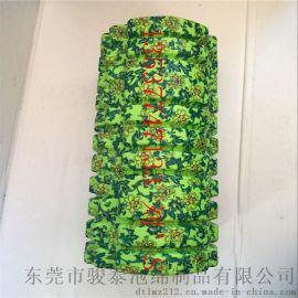 新品转印花朵瑜伽柱  健身泡沫轴质检好货