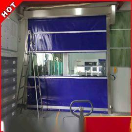 深圳廠家定制 快速門 PVC透明快速工業門 廠房門