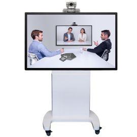 電視掛架移動推車顯示器視頻會議