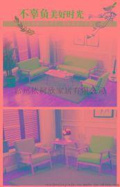 小户型布艺沙发 简约现代可拆洗布沙发客厅 组合整装沙发椅实木