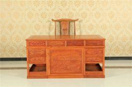 花梨木家具办公桌,红木家具办公桌实木家具办公桌家具,呼和浩特实木家具店