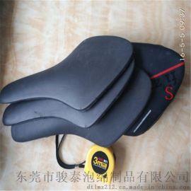 资质厂家直供黑色PU自结皮自行车坐垫
