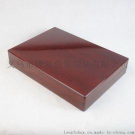 厂家定制龙腾盛世金币木盒 礼品印章盒 胎毛印章木盒 纪念币木盒
