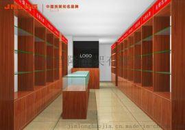 商品展柜厂家供应钛合金展柜,木质展柜