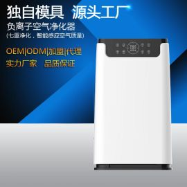厂家供应KQ-01空气净化器家用负离子空气机OEM/ODM