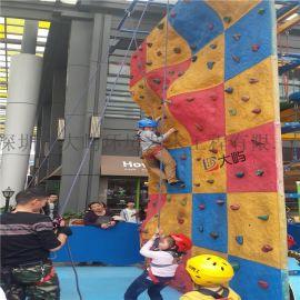 户外拓展攀岩墙训练设备