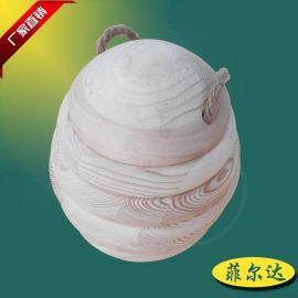 创意木圈组合茶叶包装罐木质包装礼盒多功能蜂蜜罐尺寸可定制