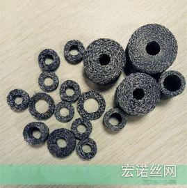 丝网垫圈应用于汽车消音器排气管垫片编织丝网垫圈