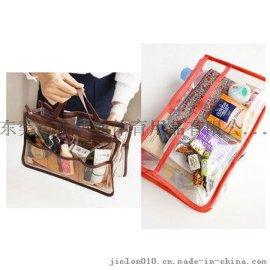 PVC透明化妆包化妆袋赠品促销品包定制LOGO厂家直销