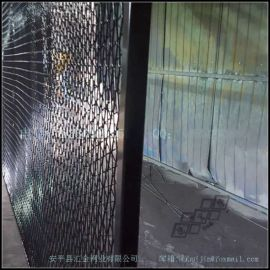 汇金网业供应优质铝板装饰网,幕墙装饰铝网