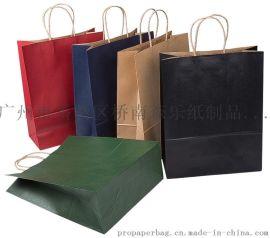 牛皮纸袋现货定制袋机制袋手提纸袋礼品袋加印LOGO服装广告宣传