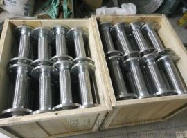 法兰式200不锈钢金属软管