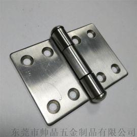 304不鏽鋼工業設備門合頁工業櫃體鉸鏈車廂車櫃鉸鏈