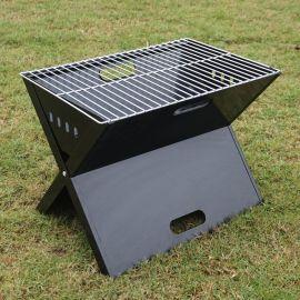 A1221 冷軋鐵工藝 家庭裝燒烤工具便攜折疊燒烤爐