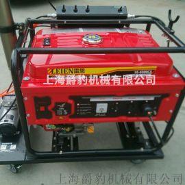 5千瓦汽油发电机移动照明灯工厂直销