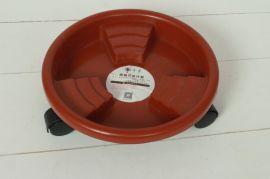 【厂家直供】卉馨万向轮可移动结实耐用塑料花盆托盘 阶梯式轮托