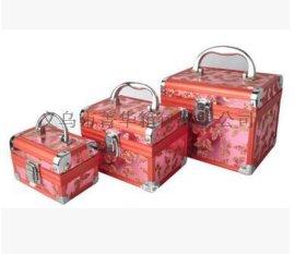 菁华半月条作长度下直角三件套化妆箱专用珠宝首饰品收纳盒JH-083