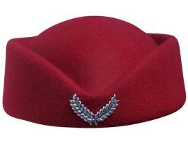 厂家直销羊毛空姐帽,贝雷帽