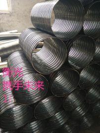 陕西铜川波纹管厂100mm预埋地脚螺栓波纹管 打造好品质