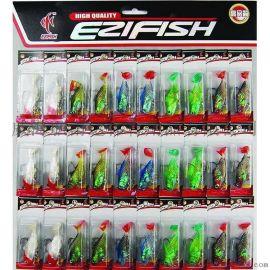 雨霖 30个包铅鱼套装 钓鱼用品 批发