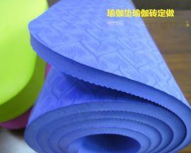 防滑tpe 4-8mm加厚瑜伽垫 瑜珈垫tpe 环保无毒瑜伽垫子