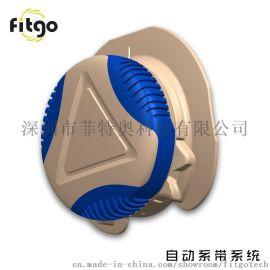 户外鞋自动旋转纽扣系带系统FITGO免系带快速收紧