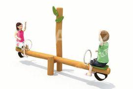 户外健身器材路径 广场小区跷跷板 室外健身器材儿童双人翘翘板
