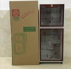 厂家直销家用保洁碗柜/立式双门低温消毒柜定时器控制