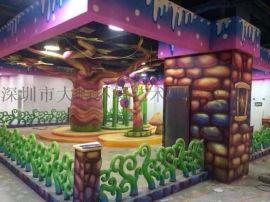 河北主题乐园景观艺术装修装饰
