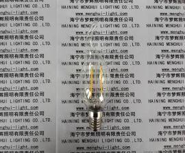 LED灯丝灯C35 CA35拉尾透明E14