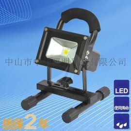led充電投光燈成品質保2年 led攜手式投光燈 led充電投光燈廠家 led5w投光燈 移動照明車 戶外led燈具