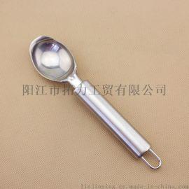 厂家直销不锈钢餐具勺子 冰淇淋勺 雪糕匙