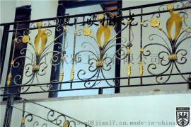 厦门欧雅铁艺私人定制欧式楼梯扶手、欧美风格楼梯