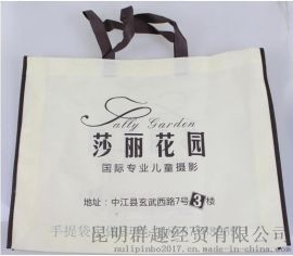 昆明j-xcv無紡布材質定做廣告手提袋結實耐用