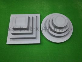 面板燈LED12W圓型明裝超薄側面發光2835燈珠