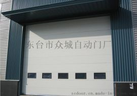 上海工业滑升门价格,工业提升门厂,车库翻板门批发