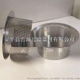 篮式不锈钢滤筒 不锈钢304材质圆形过滤网筒 矿山复合过滤网筒