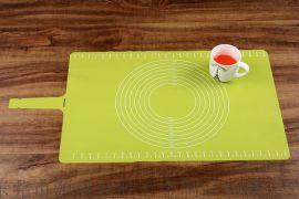 揉面垫 带刻度硅胶垫软案板 耐高温和面防滑硅胶垫子