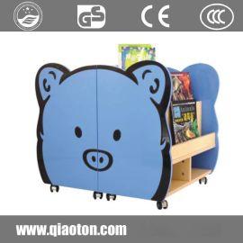 儿童书架宝宝书柜图书架玩具架收纳架幼儿园书架