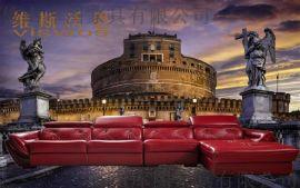 库图家具厂专业生产中高档真皮沙发  转角沙发 组合沙发