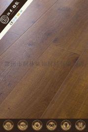 家用倒角转漆艺术纹木地板