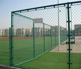 钢筋球场围网,卡扣组装围栏网,铁棍足球场围栏