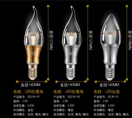 LED导光柱防雾蜡烛泡