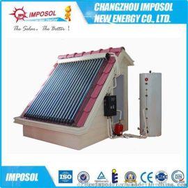 安全节能分体式承压太阳能热水器