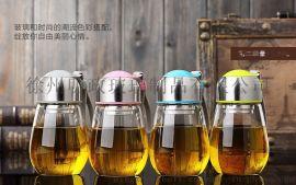 玻璃杯家用办公便携水杯耐热创意学生花茶水晶杯男女儿童可爱杯子