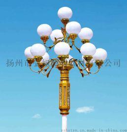 揚州弘旭照明優質銷售室外照明12米9火中華燈景觀燈