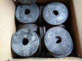 定做批发地下室桩头套钢筋用PN300型遇水膨胀橡胶止水环
