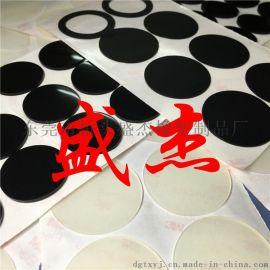 硅膠防滑貼 自粘橡膠防撞墊 透明硅膠腳墊生產廠家